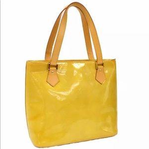 Louis Vuitton Vernis Houston Monogram Tote Bag